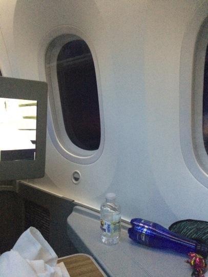 2 windows per business class passenger